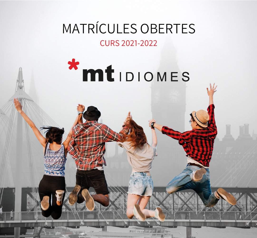 Matriculas abiertas para el curso 2021 – 2022.